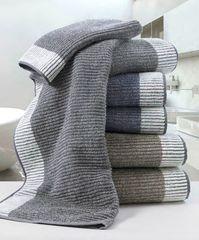 Набор полотенец 3 шт Carrara Japan серый