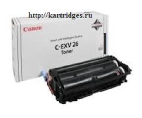 Картридж Canon C-EXV26BK / 1660B006(C-EXV26, C-EXV-26BK)