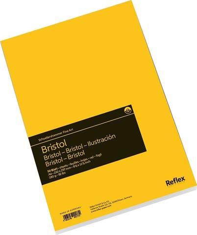 Альбом для графики Bristol 180 г/м2 21*29.7см 50л склейка по короткой стороне