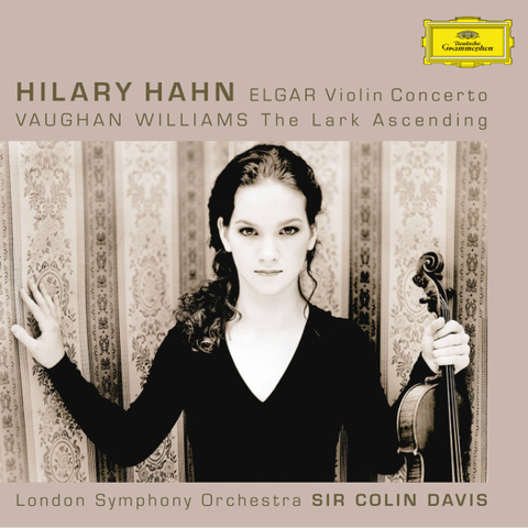 Hilary Hahn, London Symphony Orchestra, Sir Colin Davis / Elgar: Violin Concerto, Vaughan Williams: The Lark Ascending (SACD)