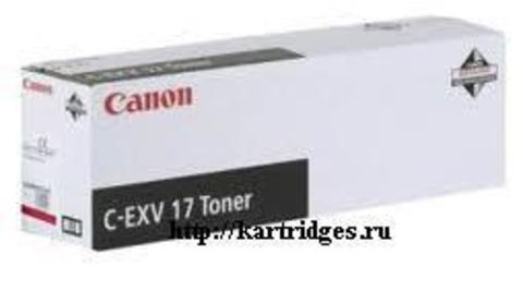 Картридж Canon C-EXV17M (C-EXV17 , C-EXV-17M)