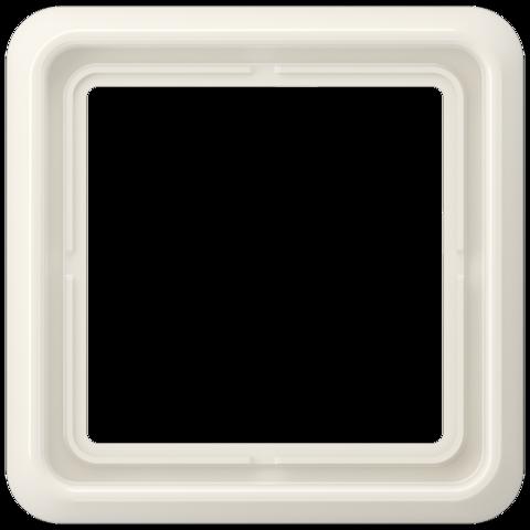 Рамка на 1 пост. Цвет Слоновая кость. JUNG CD 500. CD581W