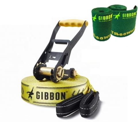 слэклайн Gibbon Classic с защитой для дерева