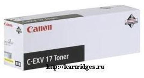 Картридж Canon C-EXV17Y (C-EXV17 , C-EXV-17Y)