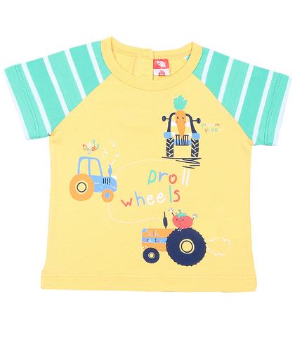 Cherubino CSN61807  Футболка для мальчика желтый