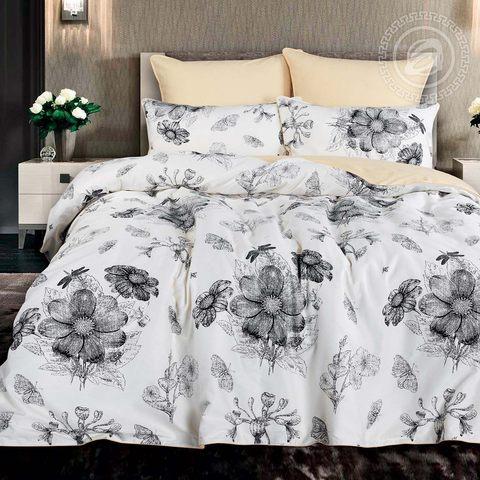 Комплект постельного белья семейный Велюр Александрия