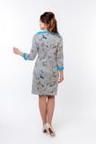 Платье для беременных и кормящих 09917 бирюза