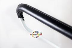 Санки коляска PIKATE Снеговик «Шоколад»