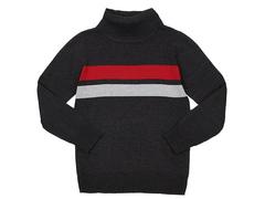 BSW000780 свитер детский, т-серый меланж