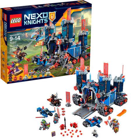 LEGO Nexo Knights: Фортрекс - мобильная крепость 70317
