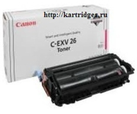 Картридж Canon C-EXV26M / 1657B006 (C-EXV26, C-EXV-26M)