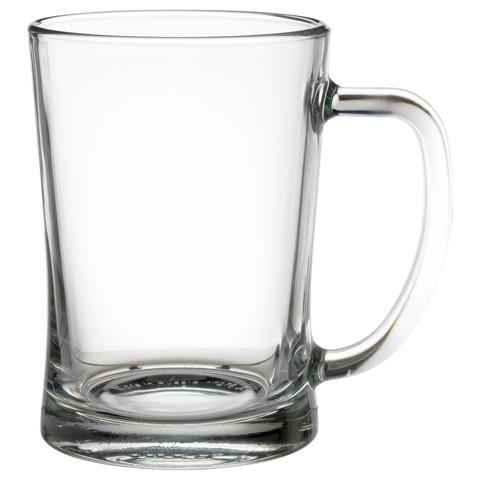 МЬЁД Высокая пивная кружка прозрачное стекло