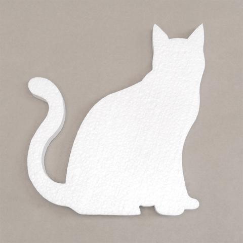 Кошка из пенопласта
