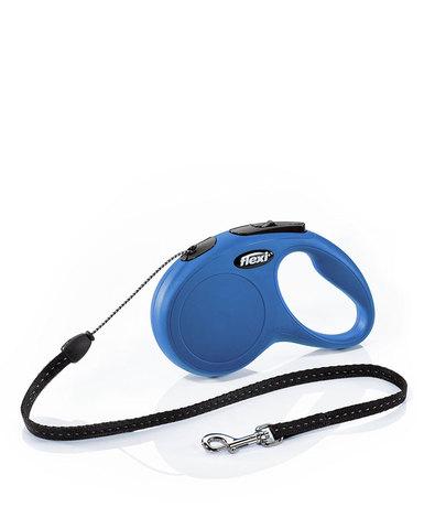Flexi Classic рулетка, размер M, длина 5 м, трос, синяя