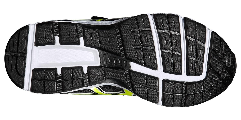 Детские беговые кроссовки Asics Gel-Galaxy 8 GS (C522N 9007) черные фото