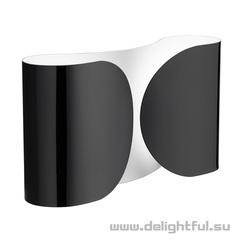 бра flos foglio ( черное )