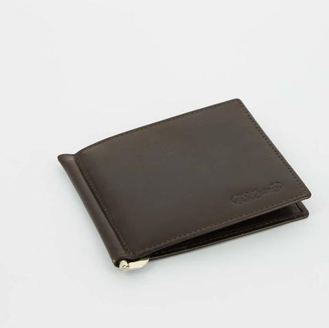 Портмоне S.Quire с клипом для денег 5700-BR VT коричневый