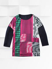 03025-1 блуза женская Равена, цветная