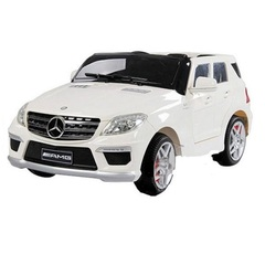 Детский электромобиль Joy Automatic Mercedes Benz ML63 AMG Lux White