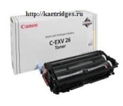 Картридж Canon C-EXV26Y / 1658B006 (C-EXV26, C-EXV-26Y)
