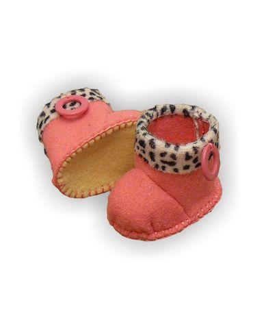 Сапожки с отворотом - Розовый. Одежда для кукол, пупсов и мягких игрушек.