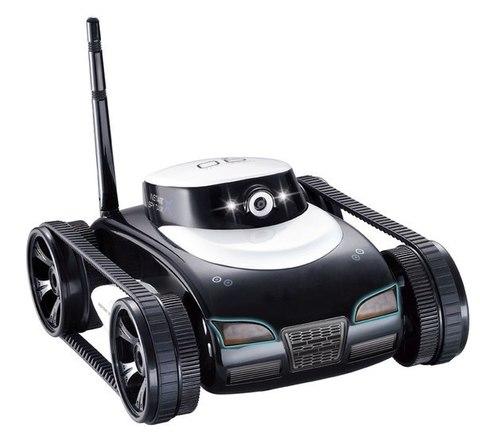 Танк-шпион с видеокамерой i-spy tank 777-287 (black)