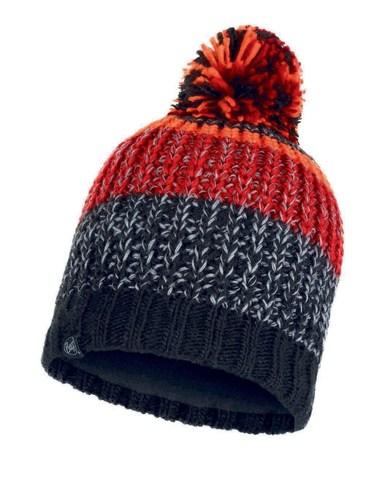 Шапка вязаная с флисом Buff Hat Knitted Polar Stig Black