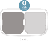 Мусорный бак Touch Bin Bo 2 х 30 л, артикул 221408, производитель - Brabantia, фото 13