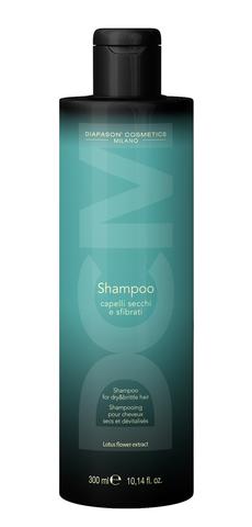 DCM Восстанавливающий шампунь для сухих, истощенных волос с экстрактом цветов лотоса 300 мл