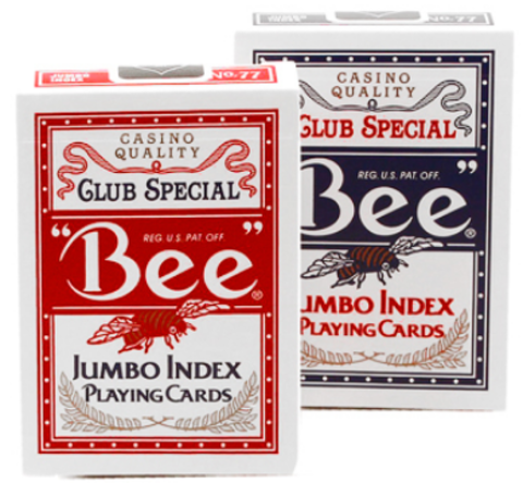Карты Bee (без пчел) Jumbo