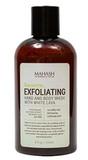 Гель-пилинг для тела с экстрактом алоэ и белой лавой, Mahash