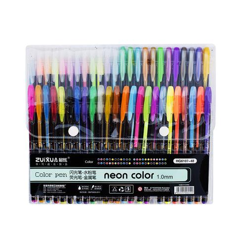 Набор цветных гелевых ручек Color pen