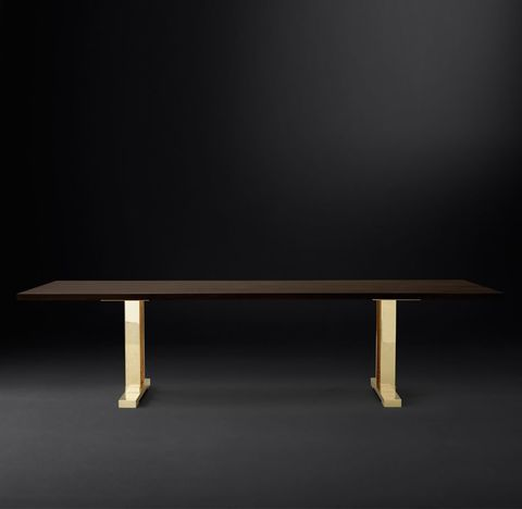 Drake Live-Edge Rectangular Dining Table