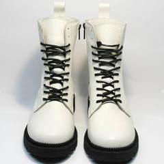 Женские ботинки зима Ari Andano 740 Milk Black.