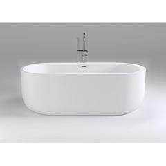 Ванна отдельностоящая 170х80 см Black&White Swan SB109 фото