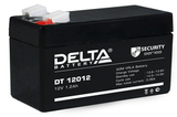 Аккумулятор Delta DT 12012 ( 12V 1,2Ah / 12В 1,2Ач ) - фотография