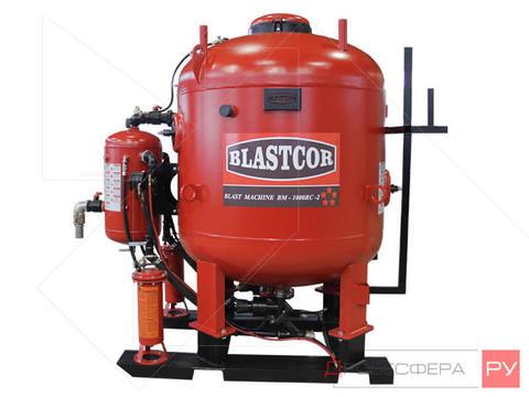 Абразивоструйная установка BLASTCOR®-BM 1000 RC двухпостовая