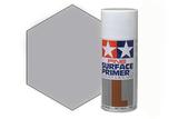 Tamiya Surface Primer Gray, Грунт в аэрозоли Серый, 180 мл
