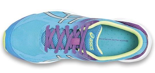 Женские беговые кроссовки Asics Gel-Hyperspeed 6 (G451N 4093) бирюзовые фото