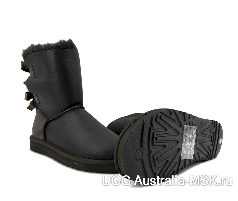 UGG Bailey Bow Chocolate