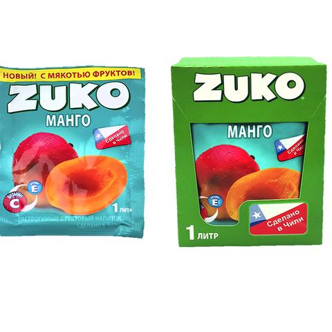 Растворимый напиток ZUKO Манго 1кор*8бл*12шт 25гр.