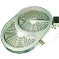 Конфорка EGO HILIGHT овальная 2-х зонная для стеклокерамических варочных панелей  10.57411.604