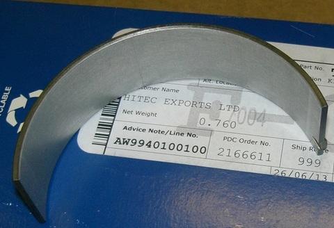 Вкладыши коренные коленчатого вала / BEARING KIT АРТ: 10000-55650