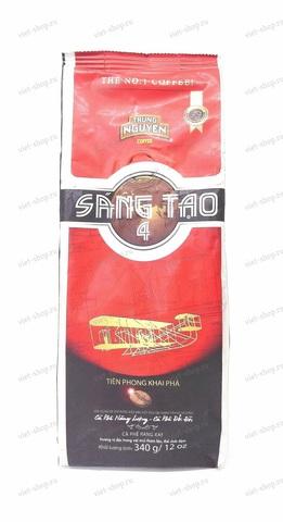Вьетнамский молотый кофе Trung Nguyen Sang Tao №4, 340 гр.