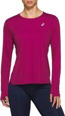 Рубашка беговая Asics Silver Ls Top Pink женская
