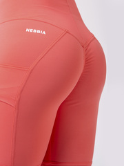 Лосины NEBBIA High waist Fit&Smart leggings 505 peach