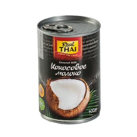 Кокосовое молоко, REAL THAI, 400 мл