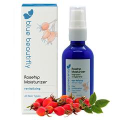 Восстанавливающий крем для лица с органическим шиповником, Blue Beautifly
