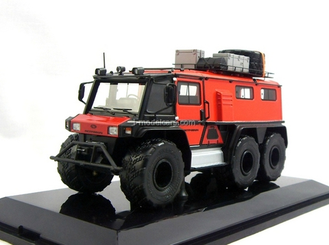 ATV triaxial Petrovich-354-60 red DIP 1:43