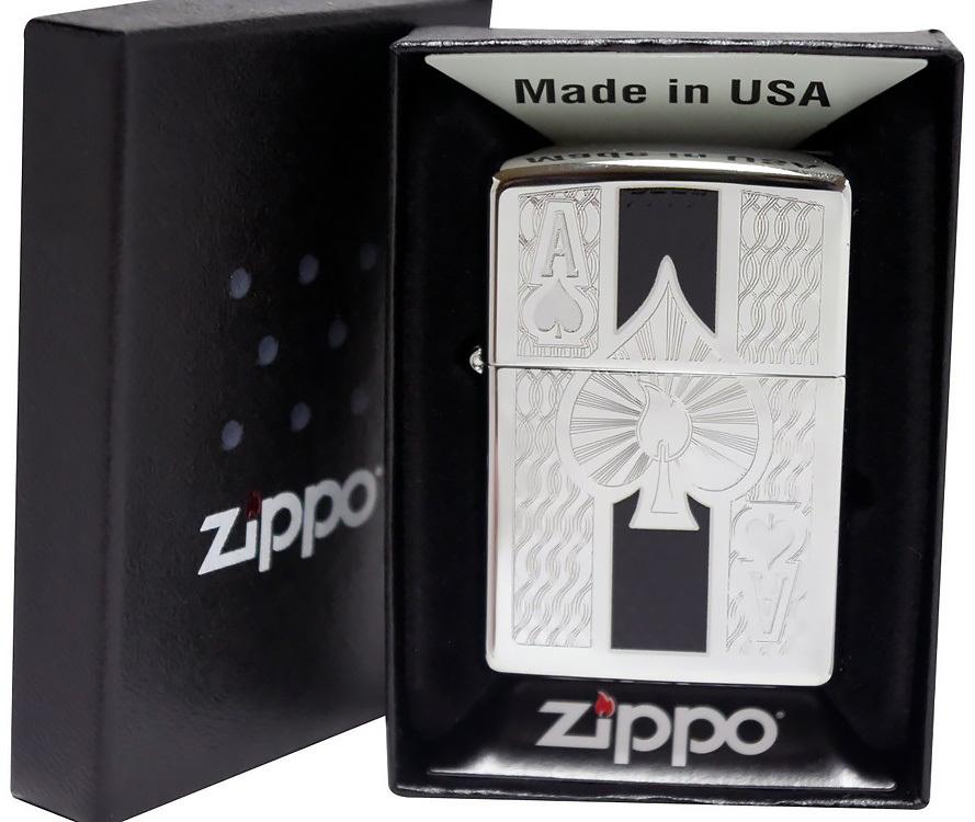Зажигалка Zippo № 24196